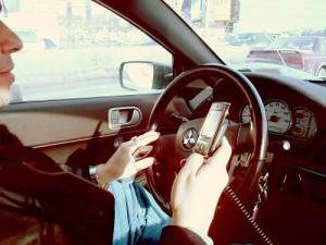 texting driving infraction