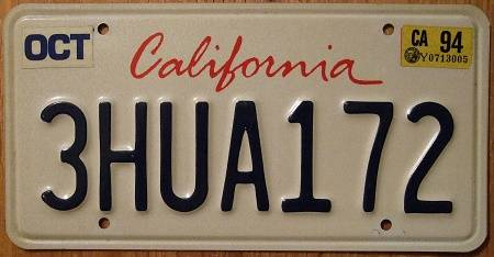 license plate Archives - The Truth About Cars |Truck Registration Plate